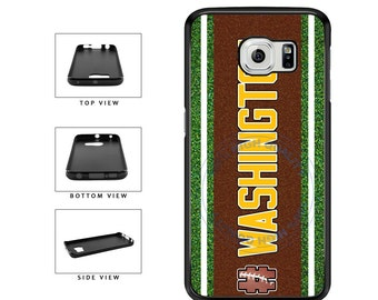 Hashtag Washington #Washington Football Team - Samsung Galaxy s3 s4 s5 s6 s7 s6 Edge Plus Note 2 3 4 5