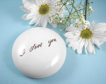 Personalized Custom Handwriting Paperweight for Aunt Sister Grandma Mother in Law or Memorial