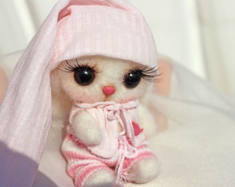 Little bunny in pink .....