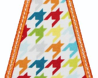 Tie Applique Embroidery