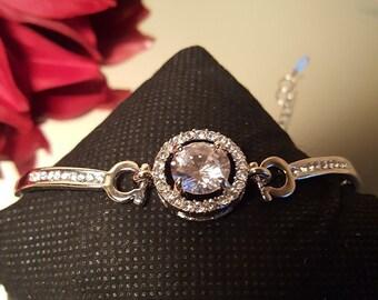 Bridal CZ Bracelet / Bridesmaid Gifts