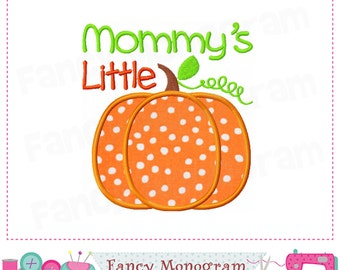 Pumpkin applique,Mommy's little pumpkin,Halloween applique,Pumpkin design,Thanksgiving,Mommy's little pumpkin,Thanksgiving Pumpkin.. -1613