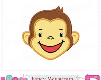 Monkey applique,Monkey embroidery,Monkey embroidery,Monkey,Machine Embroidery.- 11