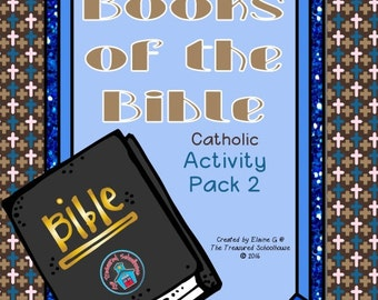 Books of the Bible Activity Pack 2 - Catholic