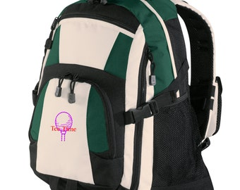 Personalized Backpack Embroidered Back Pack Custom Backpack - Sports - Golf - BG77
