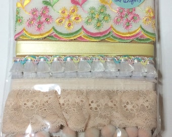 Mixed Lace and Trims