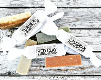 Soap Samplers, Mini Soaps, Soap Samples, Soap Favors, Party Favors, Cold Process Soap, Organic Soap, Palm Free Soap, Natural Soap