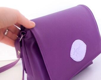 "Everyday purse ""Lola"" - modern evening purse, custom design available"