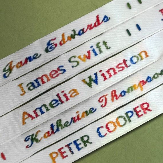 Sew In Name Tags For Clothes Uk