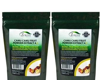 Camu Camu Fruit Powder Organic 1 LB 100% Pure Immune Booster High in Vitamin C