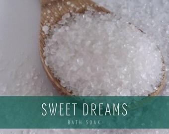 Sweet Dreams Bath Soak, Bath Salts, Detox Bath Soak