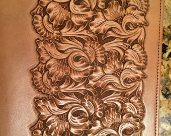 Hand Tooled Bible Cover