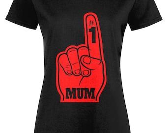 No 1 Mum Ladies T-shirt