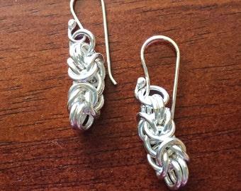 Sterling Byzantine earrings