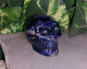 Sodalite Skull ~ Communication ~ Truth ~ Creativity