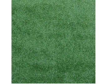 Green - SQUARE - ECONOMY Turf / Artificial Grass Outdoor Patio & Pool Rug - Bound Edges | EASY Maintenance