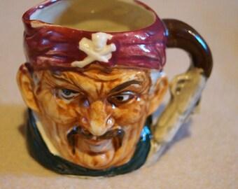 Vintage Jolly Roger Mug