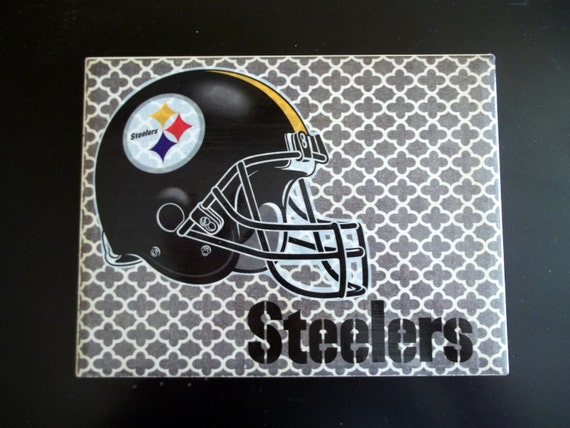Pittsburgh Steelers Man Cave Decor : Items similar to pittsburgh steelers ceramic tile sports