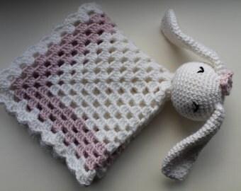 Baby Lovey/ Security Blanket Bunny