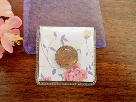 Wedding Gifts For Good Luck : sixpence bridesmaid gift, bachelorette party wedding favors, good luck ...