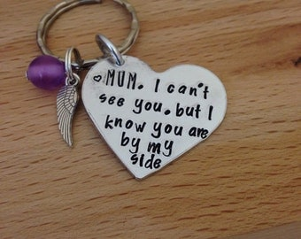 Loss of mother, mum, rememberance gift, loss of loved one, my mum is my angel, sympathy gift, in memory of symphathy gift, personalised