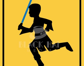 Jedi At Play Sign