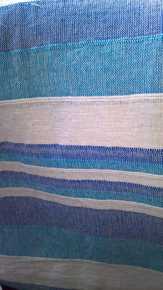 100 Cotton Blanket Throw Striped Sofa Throw By Innerspaceinc