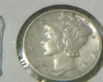 1942 Mercury Dime (SD14)