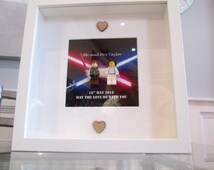 Star Wars Mini Figure Picture   personalised! Large! Exceptional quality!