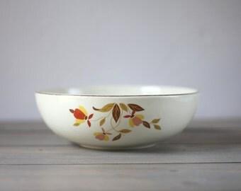 FREE SHIPPING Hall's Jewel Tea Autumn Leaf Serving Bowl / Vintage / Kitchen Serving Dinnerware