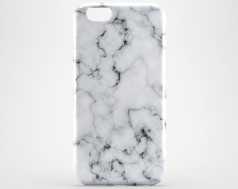 iPhone 7 Marble Case iPhone 6 Cover White Marble Phone Case iPhone 7 Plus Cover iPhone SE Case iPhone 6S Plus Case iPhone 5 Case iPhone 4