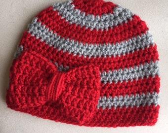 Ohio State Hat OSU Baby Toddler Child Adult Womens Buckeyes Beanie