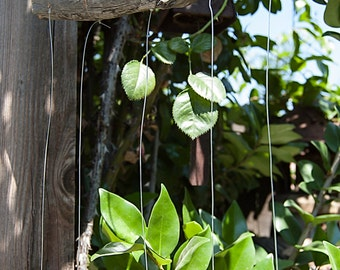 Manzanita Branch and Silverware Tropical Fish Wind Chime - TWC010