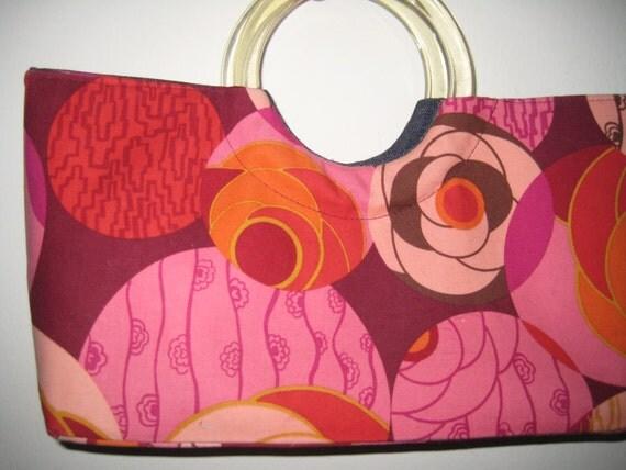 Geo Design Handbag from Blue Orchid Designs