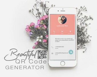 QR Code Generator for Wedding