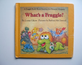 Fraggle Rock Book What's a Fraggle? 1984