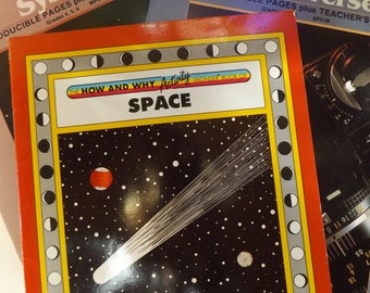 Exploring the Solar System and Space: Set of Three Educational Books for Children