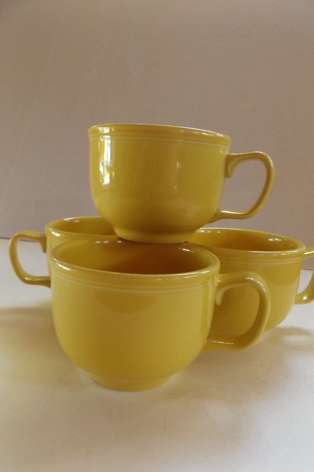 20 Off Homer Laughlin Fiestaware Large Yellow Oversized