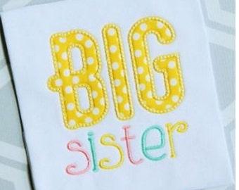 Big Sister Shirt, Lil Sister Onesie, Sibling Onesies, Sibling Shirt