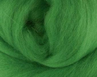 Extra fine Merino wool roving, Meadow, 19 micron, 100 grams/3.5 oz.