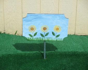 Custom Grandma's Garden Yard Sign
