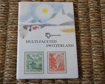 """Vintage 1981 - PTT-Souvenir """"Vielgestaltige Schweiz"""" - Annual collectors set of Swiss Postage Stamps"""