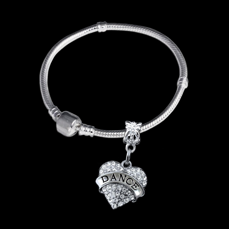 Ballet Charm Bracelet: Dance Bracelet Dancer Gift Dance Jewelry Dancing Jewelry Jazz