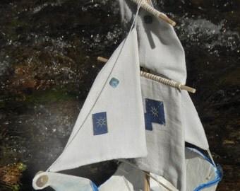 """Handmade Model Ship - """"Sea Queen"""""""