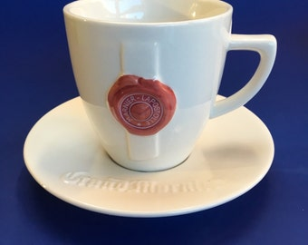 Rare Advertising Grand Marnier Liquor Coffee Cup and Saucer