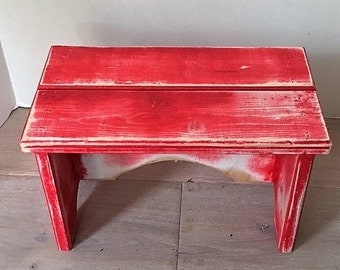 Step stool - painted