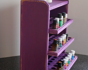 Essential oil storage shelf 96 ct/purple-Olivia
