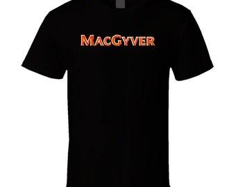 Macgyver Classic Tv Show T Shirt