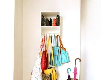Organizer bag- Organizador de bolsos- Estanteria- Bolsos- Bag- Purses- book stand