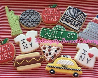 12 New York City Sugar Cookies